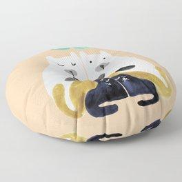 Let's get together Floor Pillow
