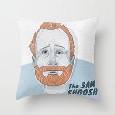 The 3 AM Shoosh Throw Pillow