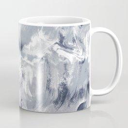 Marble Mist Cool Grey Coffee Mug