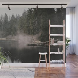 In the Fog - Landscape Photography Wall Mural