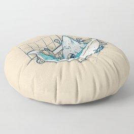 BATH TIME Floor Pillow