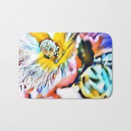 Hibiscus Flower Bath Mat