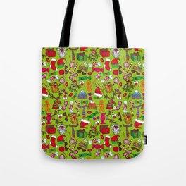 ChristmasMotif Tote Bag