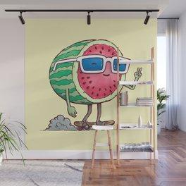 Watermelon Skater Wall Mural