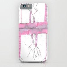 Pink trees iPhone 6s Slim Case