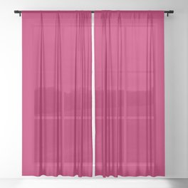 NOW BERRY GLOSS solid color Sheer Curtain