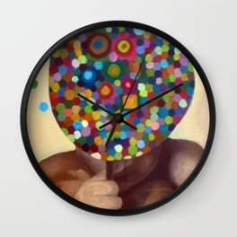 Don't look me Wall Clock