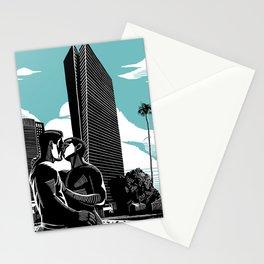 Sarona Aqua Stationery Cards