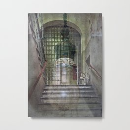 The Stairwell Metal Print