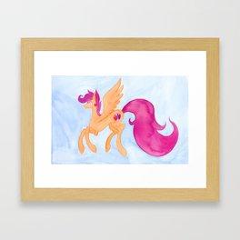 Scootaloo Framed Art Print
