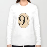 potter Long Sleeve T-shirts featuring HARRY POTTER by Sophie
