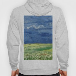 Vincent van Gogh - Wheatfield Under Thunderclouds Hoody