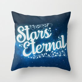 Stars Eternal Throw Pillow