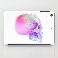 low poly iPad Cases featuring Low poly skull by Li9z