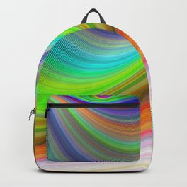 Color illusion Backpack