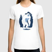 yeti T-shirts featuring Yeti by Rachel Young