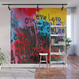 Color Me In Love Wall Mural