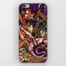 Mentalice and the Queen of heart iPhone & iPod Skin
