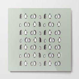Lots of Penguins Metal Print