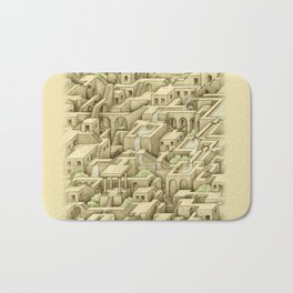 City of Stairs Bath Mat