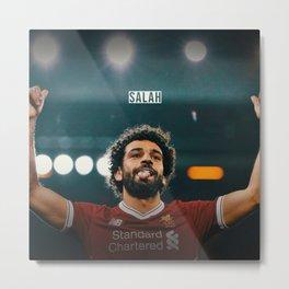 Mohammed Salah Metal Print