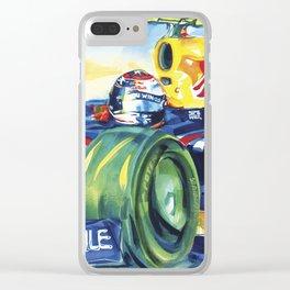 Formula One Series II Clear iPhone Case