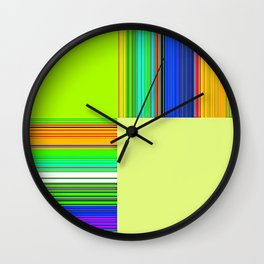 Re-Created  + 2 by Robert S. Lee Wall Clock