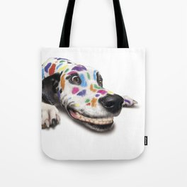 Spotted dog#3 Tote Bag