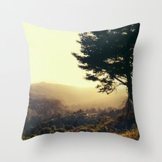 Morning in your Eyes Throw Pillow