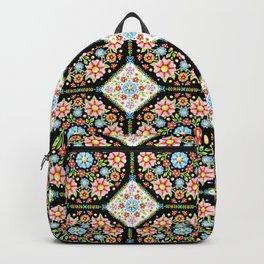 Millefiori Tile Pattern Backpack