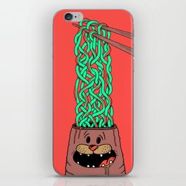 Noodle-Brains iPhone Skin