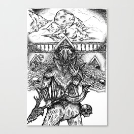 Deathbringer Canvas Print