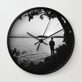 Riverside Thoughts Wall Clock