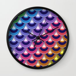 Koi Nobori Niji Wall Clock