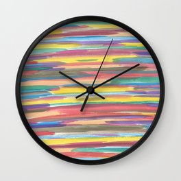 Rainbow Spectrum Wall Clock