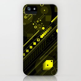 Lines in the sand iPhone Case