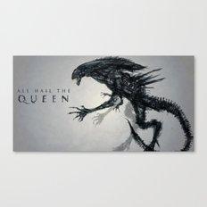 All Hail the Queen Canvas Print