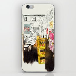 Tuesday Night Doors iPhone Skin