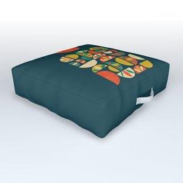 Jumpy Hills Outdoor Floor Cushion