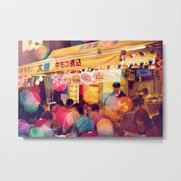 Asakusa Nights Metal Print