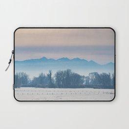 Spanish Peaks Fog Laptop Sleeve