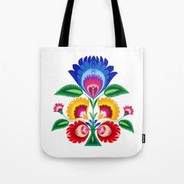 folk flower Tote Bag