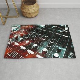 sound mixer Rug
