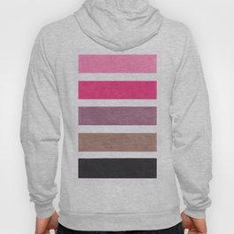 Colorful Pink Geometric Pattern Hoody