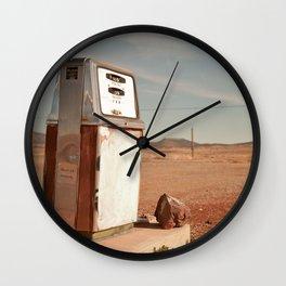 Desert Gas Wall Clock