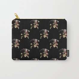 Jolly Roger And Hat Carry-All Pouch