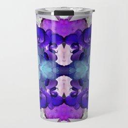 Blue Orchid Travel Mug