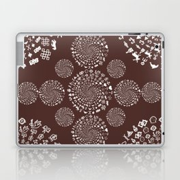 For the Love of Chocolate: Love Symbols Mandala Laptop & iPad Skin