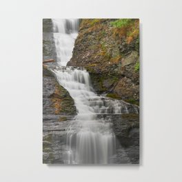 Raymondskill Falls Metal Print