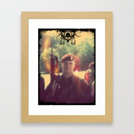 Army of Me Framed Art Print